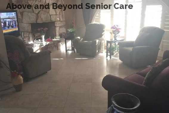 Above and Beyond Senior Care