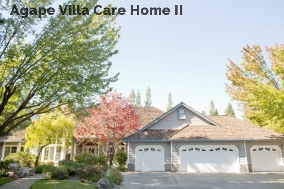 Agape Villa Care Home II