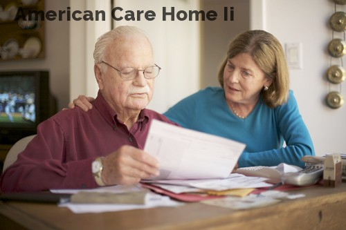 American Care Home Ii