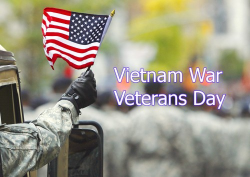 Vietnam Veterans Day National Day