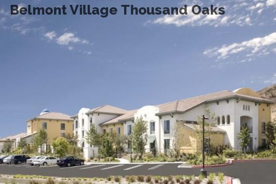 Belmont Village Thousand Oaks
