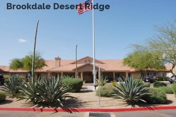 Brookdale Desert Ridge
