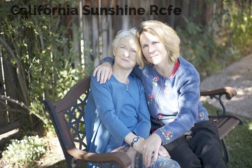 California Sunshine Rcfe