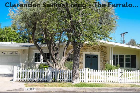 Clarendon Senior Living - The Farralo...