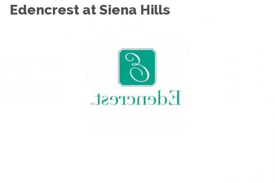 Edencrest at Siena Hills