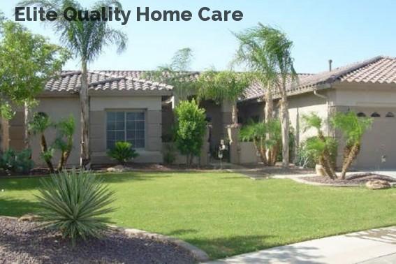 Elite Quality Home Care