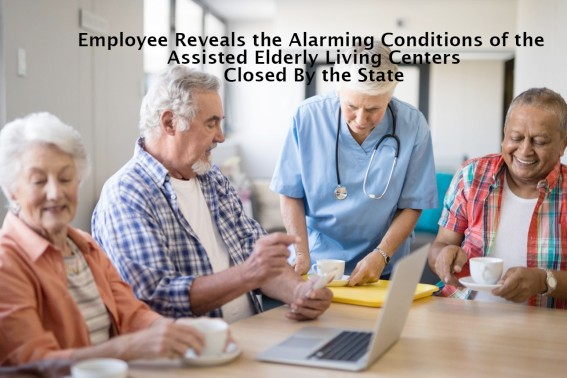 Employee Reveals the Alarming Conditions of the Assisted Elderly Living Centers Closed By the State – Lakewood, Colorado