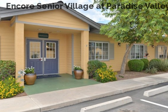 Encore Senior Village at Paradise Valley