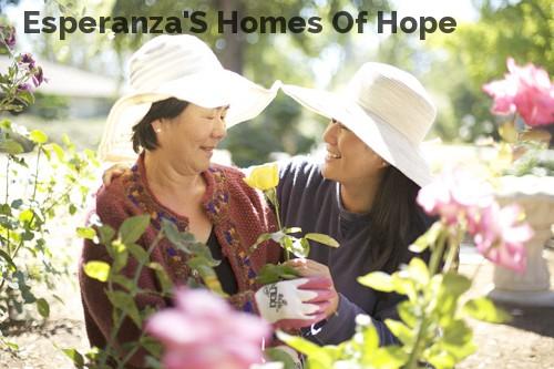 Esperanza'S Homes Of Hope