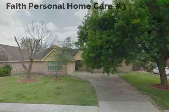 Faith Personal Home Care #3