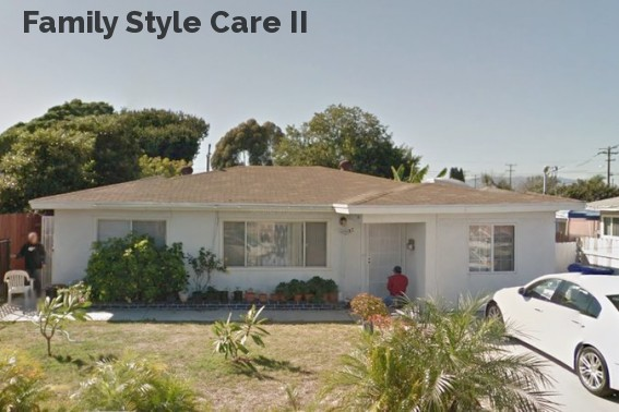 Family Style Care II