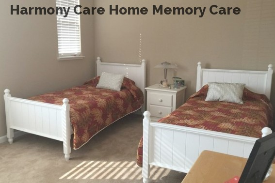Harmony Care Home Memory Care