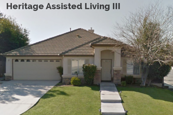 Heritage Assisted Living III