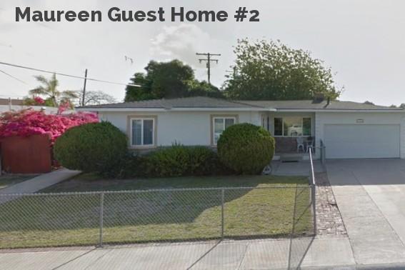 Maureen Guest Home #2