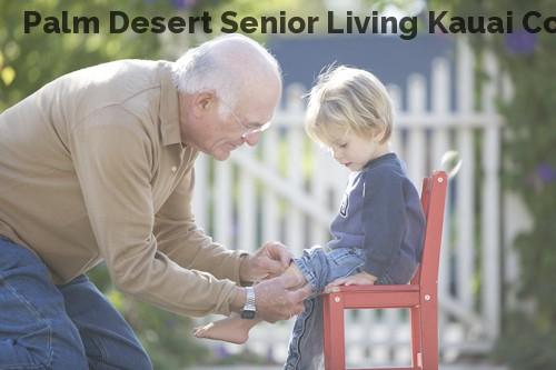Palm Desert Senior Living Kauai Cottage
