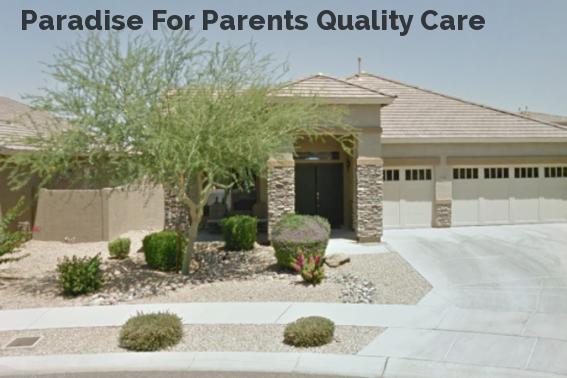 Paradise For Parents Quality Care