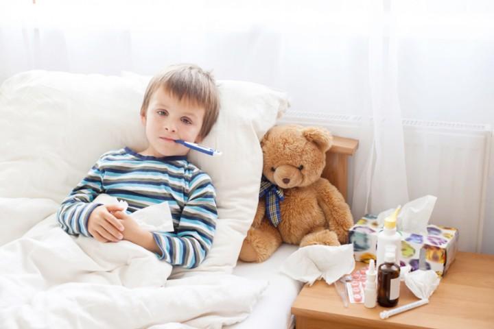 Probiotics don't help with children's stomach flu