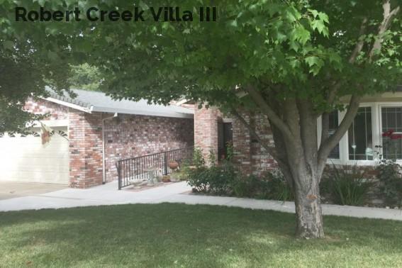 Robert Creek Villa III