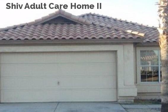 Shiv Adult Care Home II