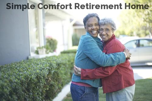Simple Comfort Retirement Home