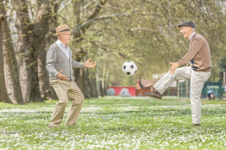 Soccer Can Produce World Cup Winning Health Results for Seniors