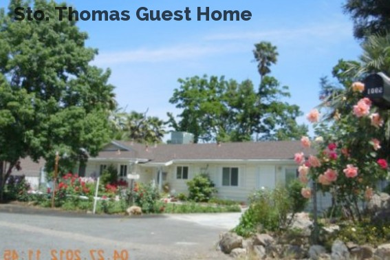Sto. Thomas Guest Home