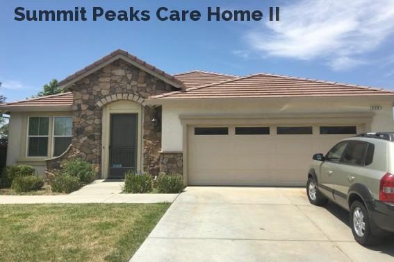 Summit Peaks Care Home II