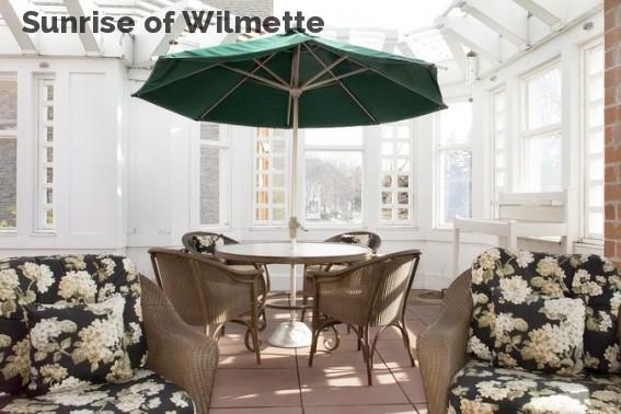Sunrise of Wilmette