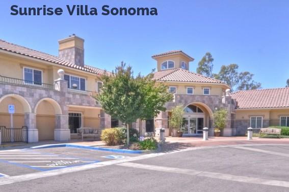 Sunrise Villa Sonoma