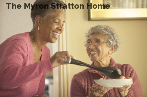 The Myron Stratton Home