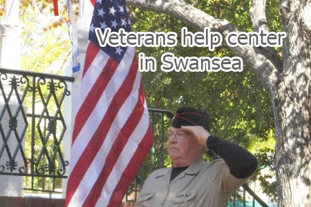 Veterans help their veteran colleagues at a new consultancy center in Swansea
