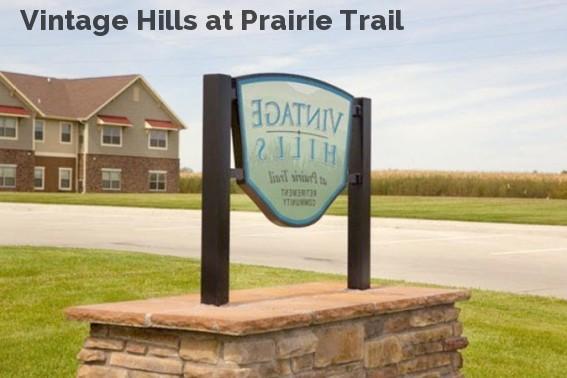 Vintage Hills at Prairie Trail