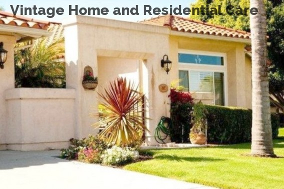 Vintage Home and Residential Care