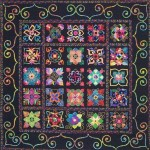 Quilter's Frame-Hand Quilts