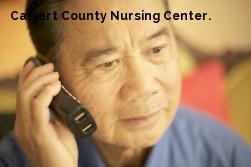 Calvert County Nursing Center.