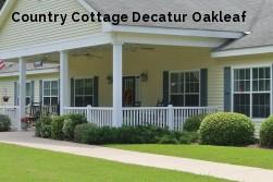 Country Cottage Decatur Oakleaf