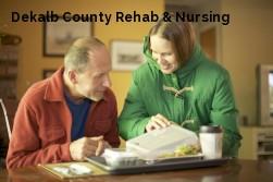 Dekalb County Rehab & Nursing