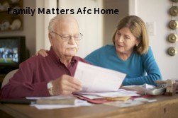 Family Matters Afc Home
