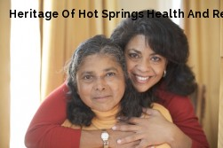 Heritage Of Hot Springs Health And Re...