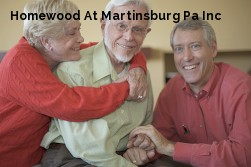 Homewood At Martinsburg Pa Inc