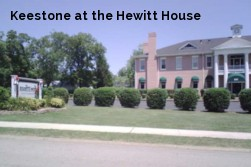 Keestone at the Hewitt House