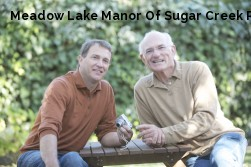 Meadow Lake Manor Of Sugar Creek Rest