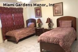 Miami Gardens Manor,, Inc