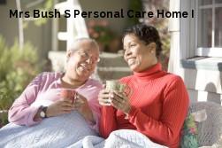 Mrs Bush S Personal Care Home I