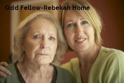 Odd Fellow-Rebekah Home