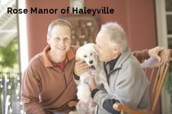Rose Manor of Haleyville