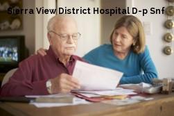 Sierra View District Hospital D-p Snf