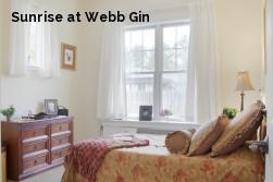 Sunrise at Webb Gin