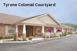 Tyrone Colonial Courtyard
